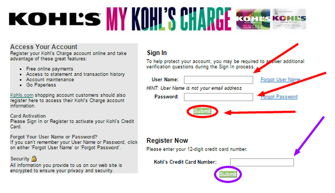 What All Can You Do With MyKohlsCharge Online Account?