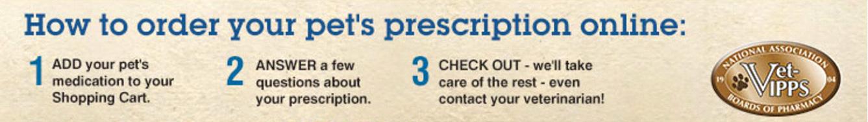 Online pet prescriptions