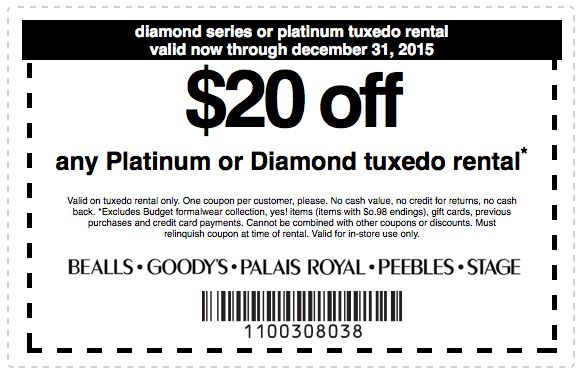 image about Peebles Coupons Printable known as Printable Place Merchants Coupon: Obtain $20 off any Platinum or