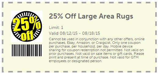 Gtm store coupons