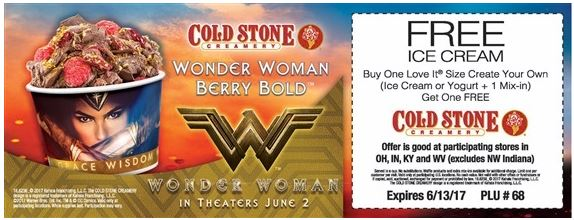 picture about Cold Stone Printable Coupon referred to as Printable Chilly Stone Creamery Coupon: Invest in A single Buy 1 Absolutely free