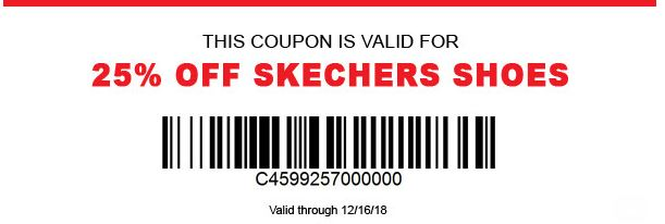 picture about Dunhams Coupons Printable named Printable Dunhams Sports activities Coupon: 25% Off Skechers Footwear
